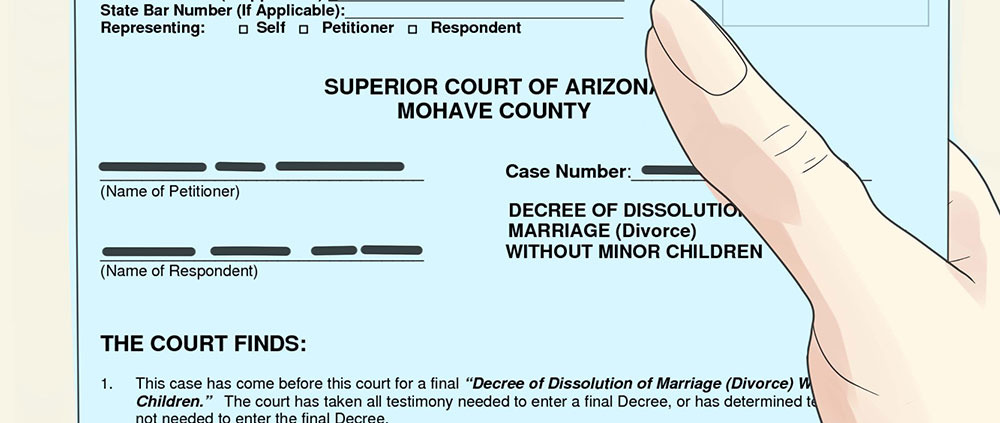 arizona process server divorce documents